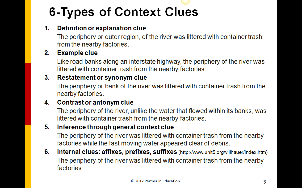Reading Mini Lessons Context Clues Lessons Tes Teach – Vocabulary Context Clues Worksheets