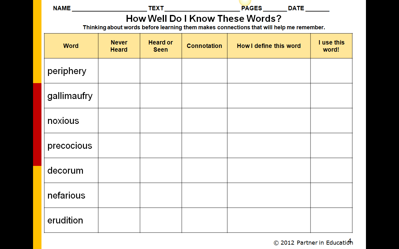 Climbing The Ccss Staircase Tier 2 Vocabulary