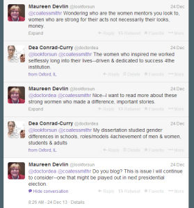 This Twitter conversation caused me to rethink my blogging practice.