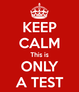 Testing will never end and because of that, we need to end the angst testing brings to the lives of teachers and learners.